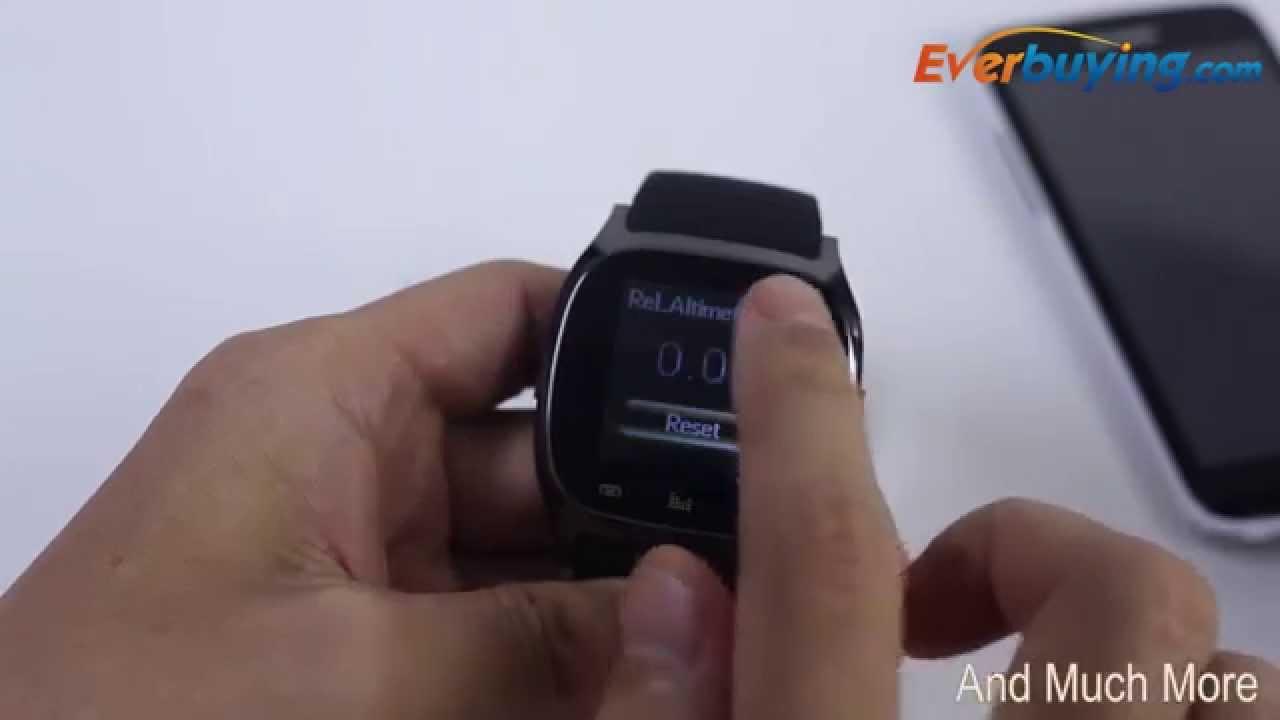ae32e3c415b Luxury R-Watch Bluetooth M26 Smart LED Watch - YouTube