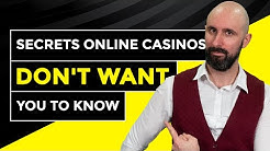 10 Secrets Online Casinos Don't Want You To Know ( in 2020 )