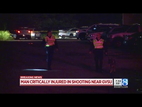 Deputies: Man in critical condition after shooting near GVSU campus