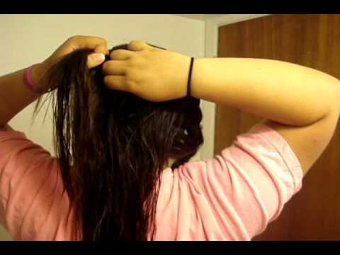 how to keep french braids neat overnight