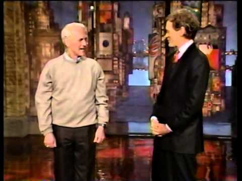 Paul Newman Just Needed A Little Applause - David Letterman