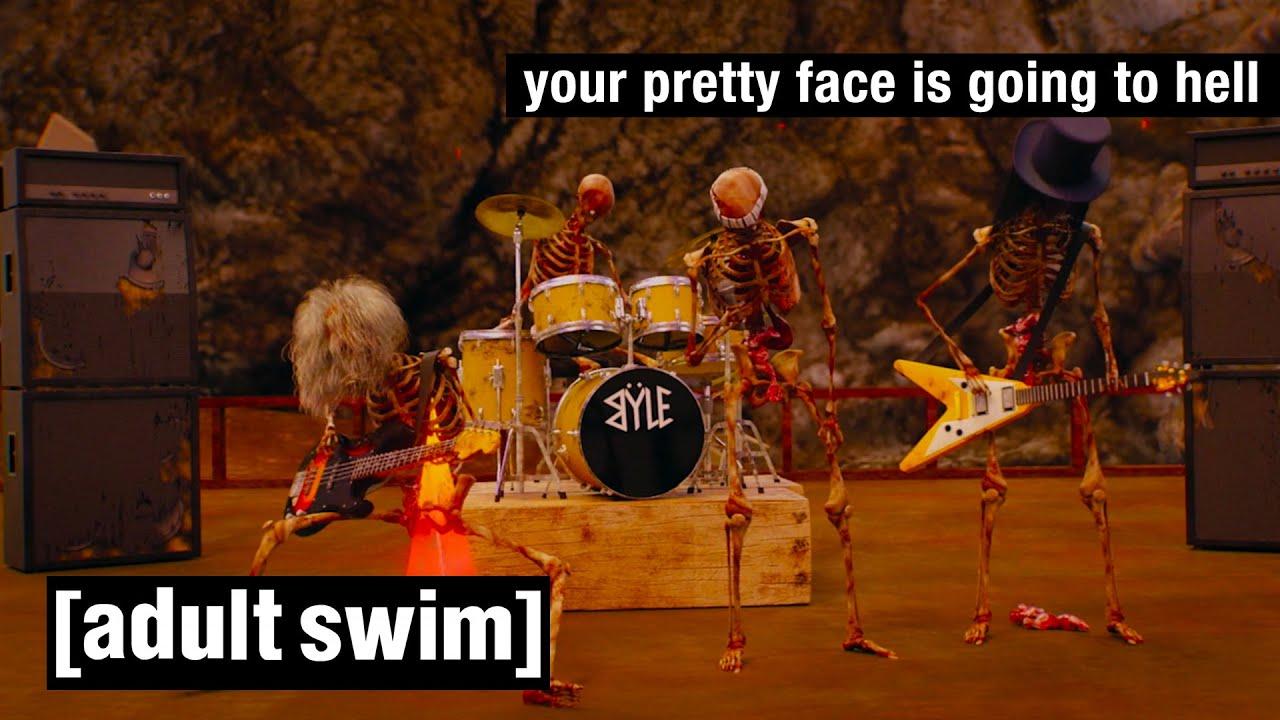 Your Pretty Face Is Going To Hell   Die besten musikalischen Momente   Adult Swim
