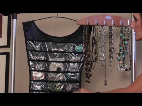 How to Hang Jewelry Organizers   Organizing With Style