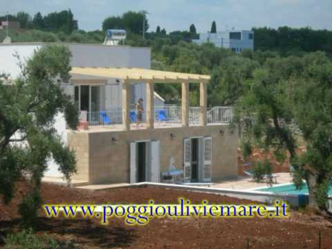 Holidays in Apulia Italy-Vacation home for rent Poggio ulivi e mare near Ostuni