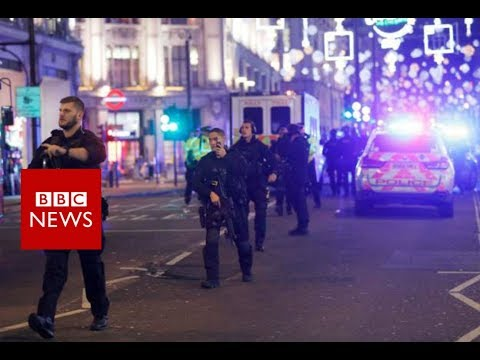 Oxford Circus Incident: Tube stations reopen - BBC News
