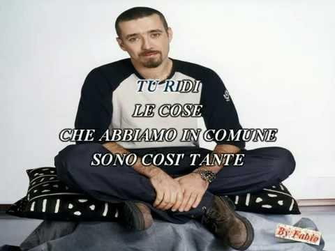 Daniele Silvestri Le cose in comune Karaoke