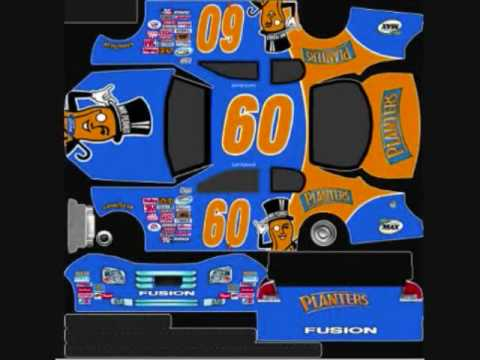 nascar nationwide series template carl edwards 2009 planters youtube