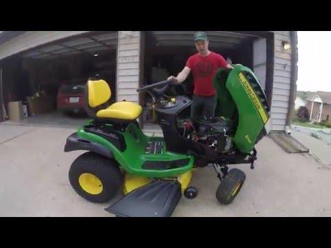 John Deere S240 Lawn mower byp on