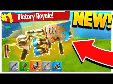 NEW Legendary SNOWBALL LAUNCHER! (Fortnite: Battle Royale Update!)