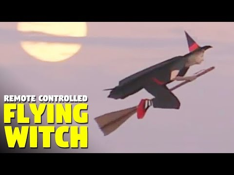 Ayo - Drone Video: Remote-controlles Witches on Broomsticks, you guys.