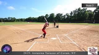 Antanina Yarusso's Softball College Showcase video