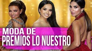 Moda de Becky G, Thalia y Leslie Grace en Premios Lo Nuestro (Moda Sin Filtro)