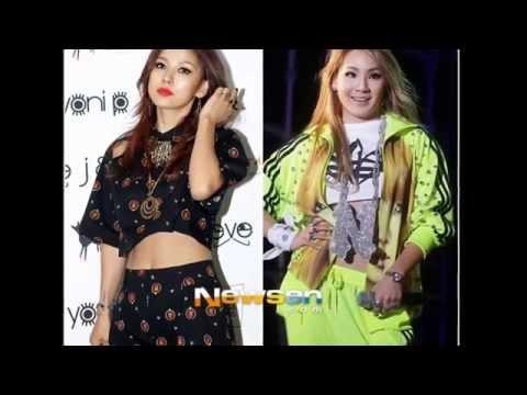 CL & Lee Hyori Bad Girls,Baddest female Lyrics