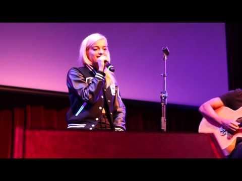 Bebe Rexha - No Broken Hearts (Live)- The Magicians Premiere Tour LA