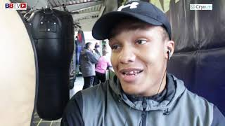 BIG HITTING SHACK SPEARE: ON MOVE TO DERRY MATTHEWS GYM AND AMBITIONS IN THE GAME