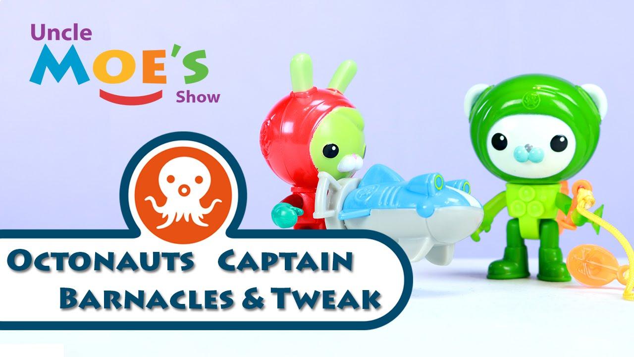 uncle moe fishing octonauts captain barnacles and tweak youtube