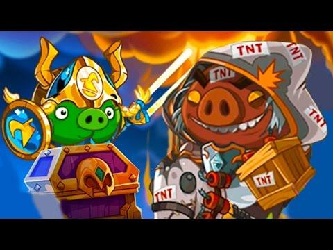 Мультик игра для детей Angry Birds Epic #94 энгри бердс День рожденья злых птичек #КИД