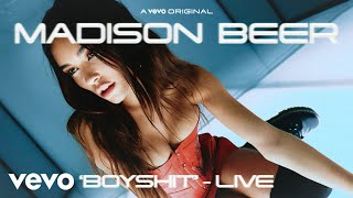 Madison Beer - BOYSHIT (Live Performance) | Vevo LIFT