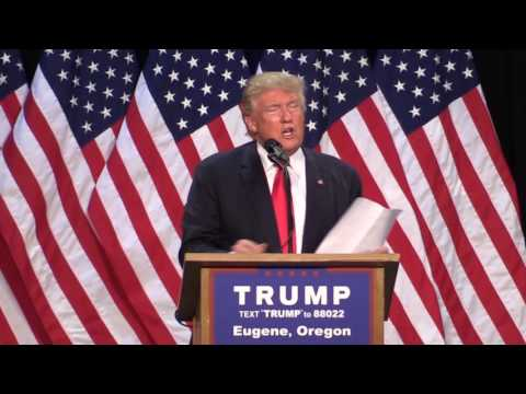 From The Archive: Trump On Oregon Logging