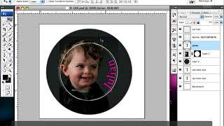 BUTTON SOFTWARE TUTORIAL - Adobe Photoshop