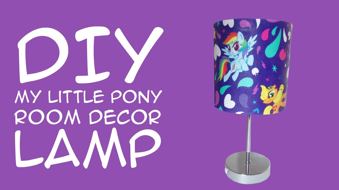 Diy My Little Pony Room Decor Rainbow Dash Lamp My Little Pony Fandom A Crafty Mcfangirl Tutorial Youtube