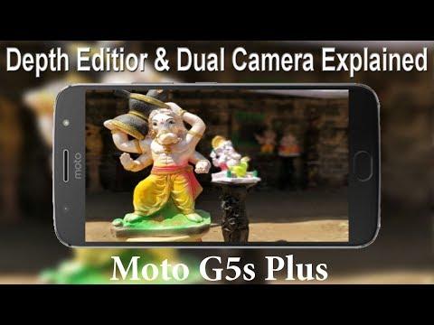 Moto G5s Plus Dual Camera & Depth Editor Explained #AnkushTyagiExplains