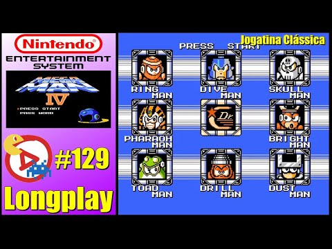 NES Longplay Mega Man 4