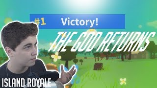 THE GOD RETURNS! [ISLAND ROYALE ROBLOX]