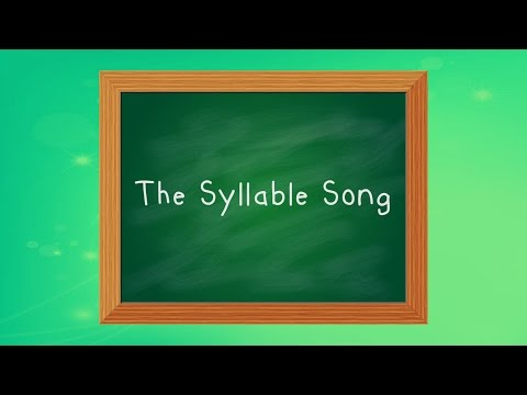Learn Syllables | Syllable Song for Kids | Clap, Stomp and Chomp | Jack Hartmann