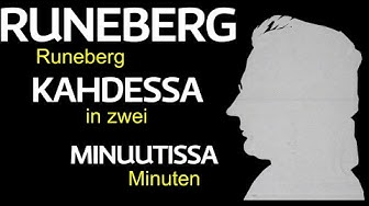 J.L.Runeberg - Der finnische und schwedische (!) Nationaldichter in 2 Minuten