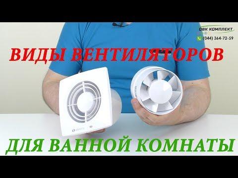 Виды бытовых вентиляторов, какие бывают вентиляторы в ванную