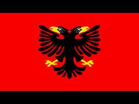 Bandera de la República de Albania (1925-26) - Flag of the Republic of Albania (1925-26)