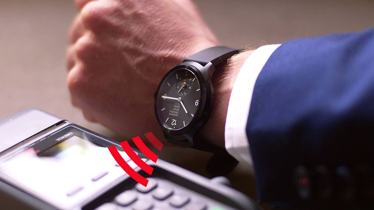 Mondaine Enhances Watch Functionality With Contactless Payment System