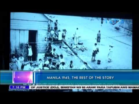 Documentary film reveals stories about Battle of Manila in 1945