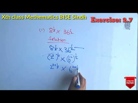 Maths 10 class Chapter 2 Ex: 2.7 Part-1