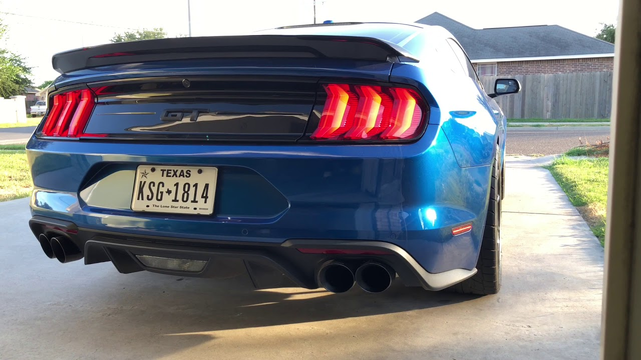 2018 Mustang GT E85 Ghost Cam