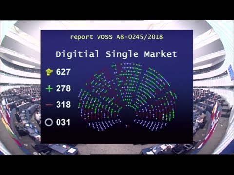 European Parliament rejects Article 11 and 13 (for now)