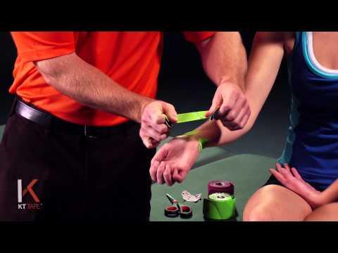 KT Tape: Wrist