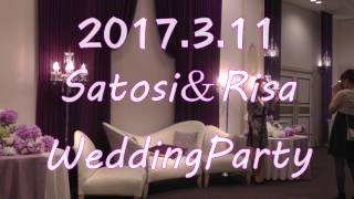 TSUNEMOO 20170311 WeddingParty 宝塚ホテル