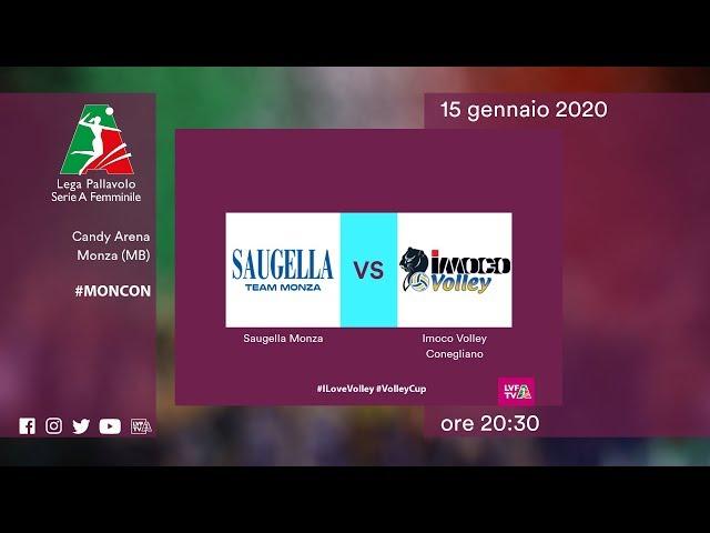 Monza - Conegliano | Speciale | 14^ Giornata | Lega Volley Femminile 2019/20