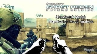 Tom Clancy's Ghost Recon: Future Soldier (GunSmith Mode) PlayStation Move Analysis w/iWaggle3D