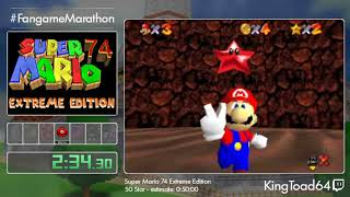 FM 2020 Bonus 5 - Super Mario 74 Extreme Edition, 50 Star and Bonus by KingToad64