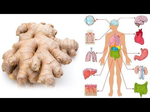 Iss Ingwer jeden Tag einen Monat lang und das wird mit deinem Körper passieren!