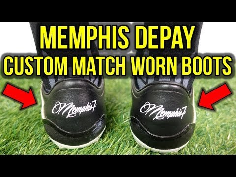 What Are Memphis Depay S Custom Football Boots Actually Like Youtube