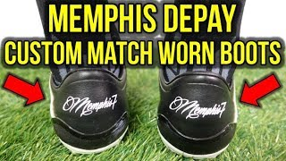 WHAT ARE MEMPHIS DEPAY'S CUSTOM FOOTBALL BOOTS ACTUALLY LIKE?