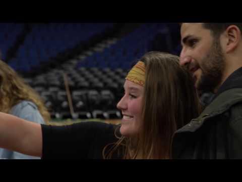 Ricky Rubio invites ABOH kids to Timberwolves game
