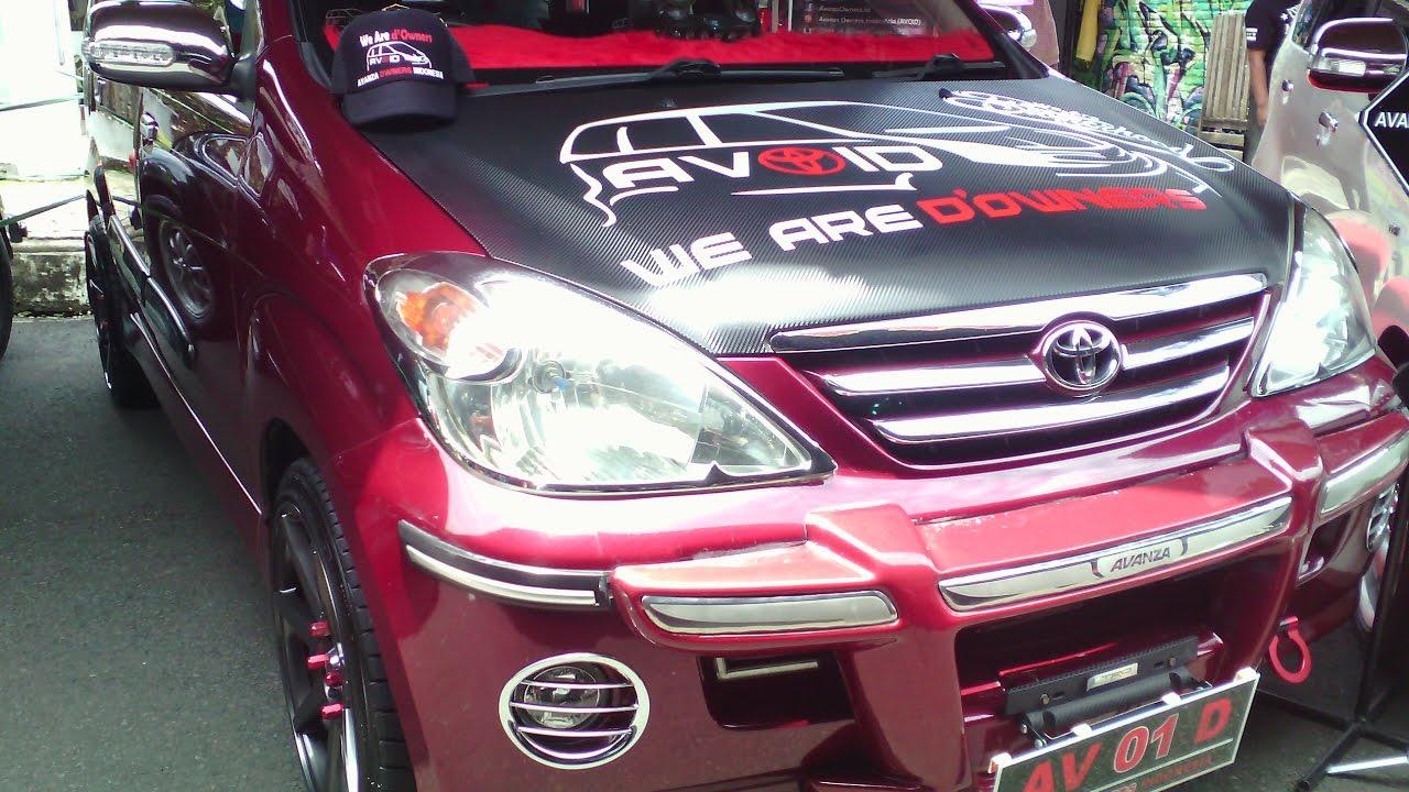 Modifikasi Toyota Avanza Terbaru 2017 Simpel Avanza Lama