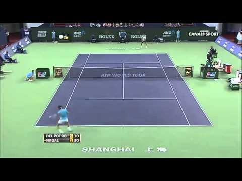 ATP Shanghai Masters Rolex Open 2013 ~ Rafael Nadal Best Points TOP 20