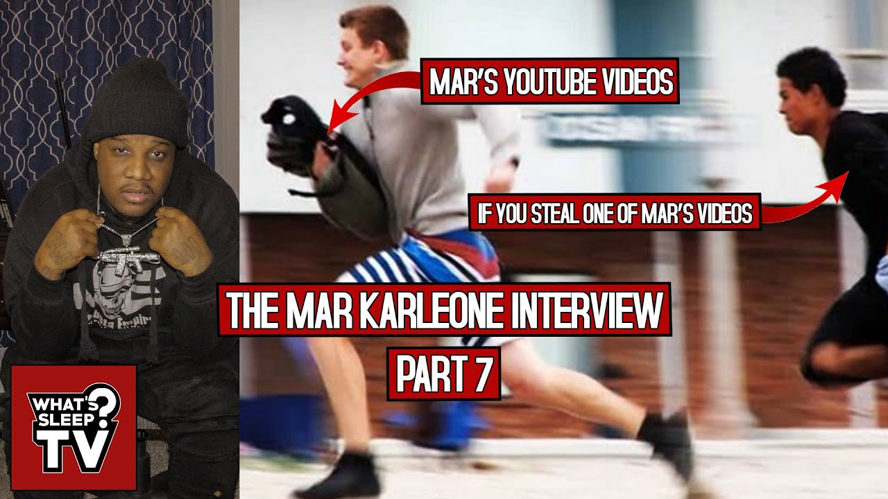"""Mar Karleone """"You Don't Want To Die About YouTube!"""" + Speaks On People Copying Content"""