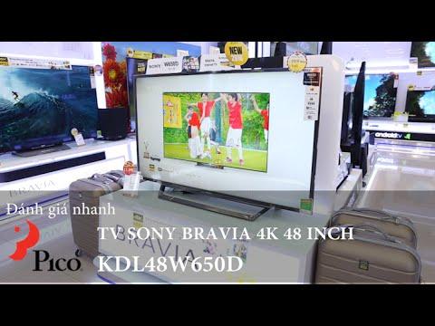 TV Sony Bravia KDL48W650D – TV bán chạy nhất 2016